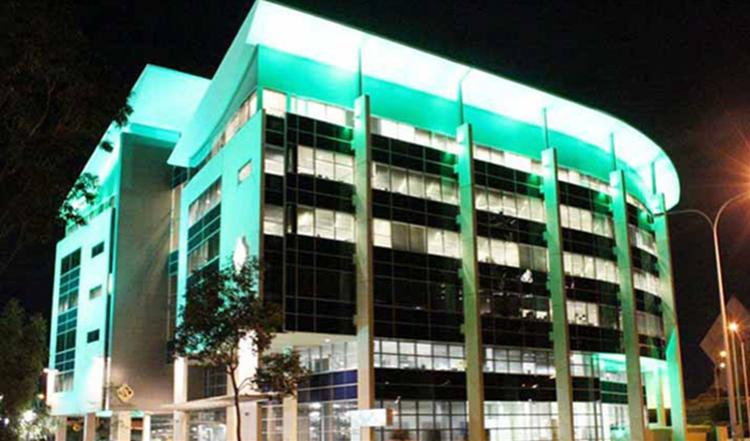 High Power LED Flood light for RAC Building in Australia