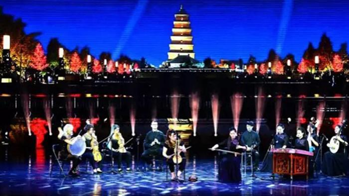 LED Stage Lighting for 4th Silk Road International Festival