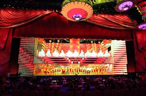 LED Stage Lighting for Spring Festival Gala